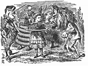Лъвът и еднорогът