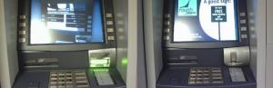 Друг пример за ATM skimmer