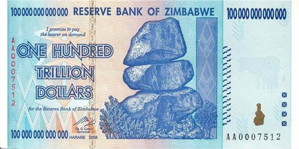 Зимбабвийски Долари