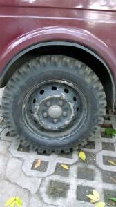 Lassa OK-144 като задна гума на Лада Нива