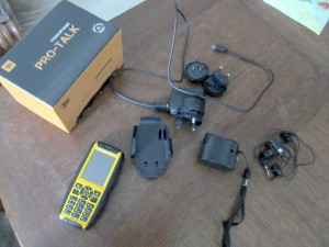JCB Pro-Talk Toughphone - комплект