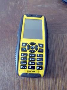 JCB Pro-Talk Toughphone