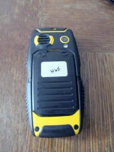 JCB Pro-Talk Toughphone - отзад