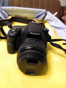 Sony a58 отпред