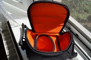 Чанта Sony AMB отвътре