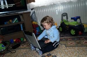 Пепи с лаптоп 2